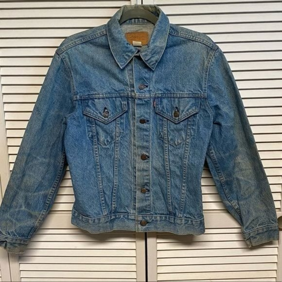 Vintage Levi's jean jacket made in the USA
